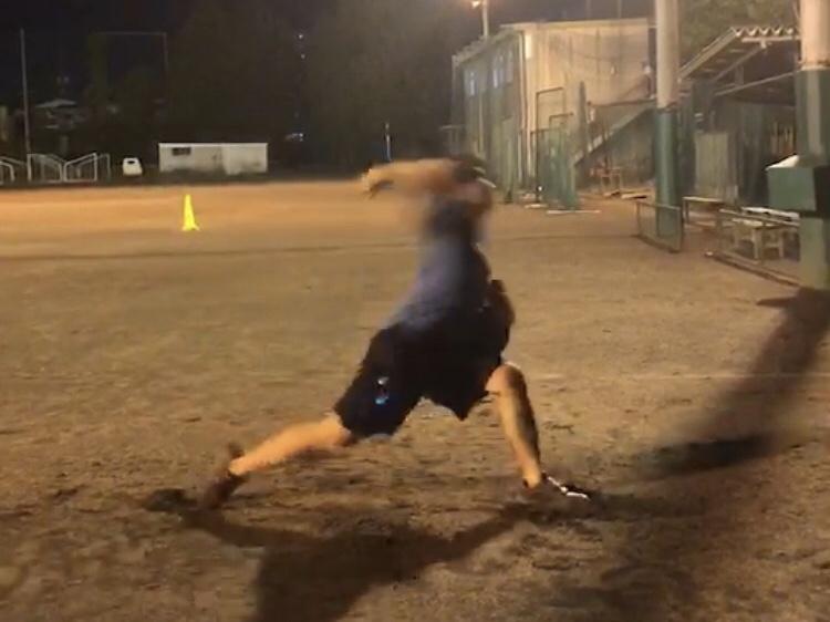 野球の動作改善のイメージ